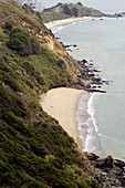 Rugged coast of Angel Island. Bay area, California. USA.