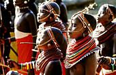 Ethnic group of Maasai. Mara National Park. Kenya