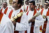 Shrines, Roman Catholic St. Blaise s celebration. Dubrovnik. Croatia