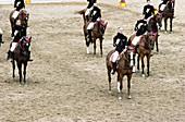 The Carrousel, Cadre Noir Cavalry Academy. Saumur. Val de Loire, France