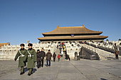 Hall of Supreme Harmony (Tai He Dian). The Forbidden City. Imperial palace. Beijing city (capital). China. Asia.