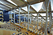 Inside Alexandria Library, Alexandria, Egypt