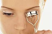 sh, Eyelash curler, Eyelash curlers, Eyelashes, Face, Faces, Facial expression, Facial expressions, F