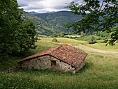Cabin at Redes Natural Park and Biosphere Reserve. Asturias, Spain