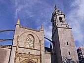 Santa María de la Asunción parish church (S. XV), Lekeitio, Vizcaya, Spain
