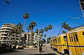 Street scene in Alexandria. Egypt