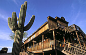 Apache Junction, a goldfield gosh town in Arizona, USA