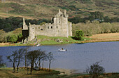 Kilchurn castle. Loch Awe. Highlands. Scotland. UK.