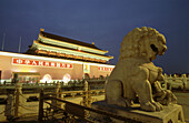 Heavenly Peace Gate. Beijing. China.