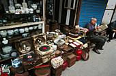 Dongtai Road antiques market. Shanghai. China