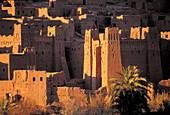 Kasbah of Aït Benhaddou. Morocco