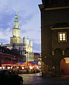 Town hall from the XVI-XVII century. Poznan. Poland