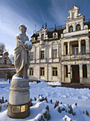 Suprasl. Town in Eastern Poland. The palace of a linen manufacturer from the second half of the XIOX century