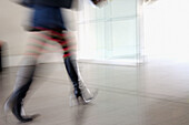 Action, Adult, Adults, Anonymous, Blurred, Boot, Boots, Color, Colour, Contemporary, Determination, Female, Femme fatale, Femmes fatales, Get out, Getting out, Heels, Horizontal, Human, Hurry, Indoor, Indoors, Inside, Interior, Leaving out, Leg, Legs, Lo