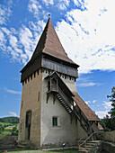 Biertan fortified church, Transilvania. Romania