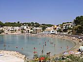 Portet beach. Moraira. Alicante province. Comunidad Valenciana. Spain