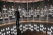 Interior of the Football Hall of Fame, Canton, Ohio