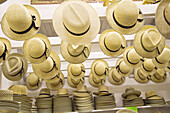 Amish life in Millersburg and Sugrar Creek Holms County Ohio Pattern of hand made straw hats