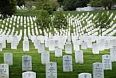 Arlington National Cemetery. Virginia, USA