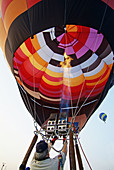 Annual Michigan Challenge Balloonfest, Howell. Michigan, USA