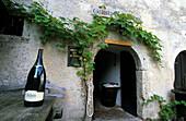 Wine cellar in Bled Castle, Slovenia