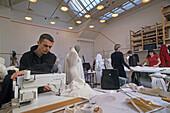 Ecole Nationale Superieure des Beaux Arts, Ensb-a, National School of Fine Arts Paris, fashion design class, Paris, France, Europe