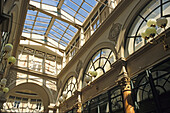 Passage Colbert,  Empire style glass roof, built in 1826, 2. Arrondissement, Paris, France, Europe