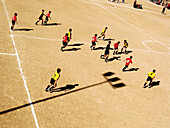 Activity, Color, Colour, Comunidad Valenciana, Contemporary, Daytime, Earth, Europe, Exterior, Football, Football ground, Game, Games, Horizontal, Human, Leisure, Match, Matches, Outdoor, Outdoors, Outside, People, Person, Persons, Player, Players, Shadow