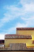 Architectural detail, Architectural details, Architecture, Blue, Blue sky, Building, Buildings, Cities, City, Color, Colour, Comunidad Valenciana, Concept, Concepts, Daytime, Detail, Details, Europe, Exterior, Geometry, House, Houses, Housing, Outdoor, Ou