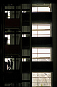 Building, Buildings, Business, Chat, Chatting, Colleagues, Color, Colour, Companion, Companions, Human, Indoor, Indoors, Inside, Interior, Landing, Landings, Light, Mate, Mates, Office, Offices, Pair, People, Person, Persons, Shadow, Shadows, Silhouette,