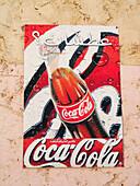 Coca-Cola sign. Morocco.
