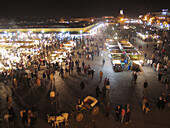 Djemaa el Fna. Marrakech. Morocco.