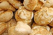 Rustic bread at market
