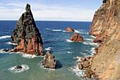 Seahorses rocks. Ponta de Sâo Lourenço. Caniçal. Madeira. Portugal.