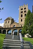 Romanesque monastery of Santa María de Ripoll (12th century). Ripollès. Girona province. Catalonia. Spain