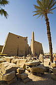 Temple of Luxor (ancient egyptian city of Thebes). Luxor. Egypt.