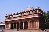 Tomb of Islam Khan, inside Jama Masjid mosque complex. Fatehpur Sikri. Uttar Pradesh. India.