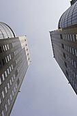 Far Eastern Plaza Hotel towers and office buildings. Taipei. Taiwan