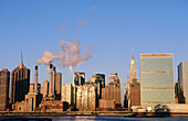 Midtown Manhattan skyline. New York City, USA