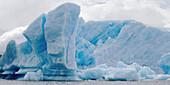 Iceberg in Lago Argentino, Los Glaciares National Park. Patagonia, Argentina
