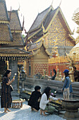 Wat Phrathat Doi Suthep temple, Chiang Mai, North Thailand, Thailand