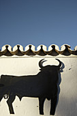 Ad, Adver, Advertisement, Advertising, Andalucia, Andalusia, Animal, Animals, Architecture, Black, Bull, Bulls, Color, Colour, Concept, Concepts, Contrast, Contrasts, Costa del Sol, Daytime, Detail, Details, Europe, Exterior, Malaga province, Mijas, One,
