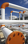 Pipes. Oil industry. Pemex. Mexico.