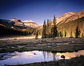 Little Yoho River and Valley. Yoho National Park. British Columbia. Canada.
