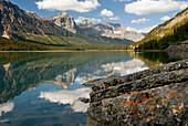 Waterfowl Lake, Banff National Park. Alberta. Canada.