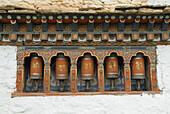 Architecture, Asia, Bhutan, Budha, Budhism, Building, Buildings, Color, Colour, Concept, Concepts, Daytime, Detail, Details, Exterior, Facade, Façade, Facades, Façades, Faith, Five, Holy, Horizontal, Monastery, Monasterys, Outdoor, Outdoors, Outside, Pray