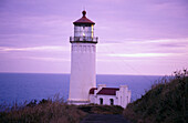North Head lighthouse. Washington coast, USA