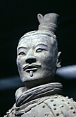 Terracotta Warrior, Xian, Shaanxi, China.