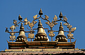 Decoration on roof, Durbar Square. Kathmandu. Nepal