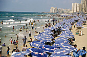 Beach. Alexandria. Egypt.